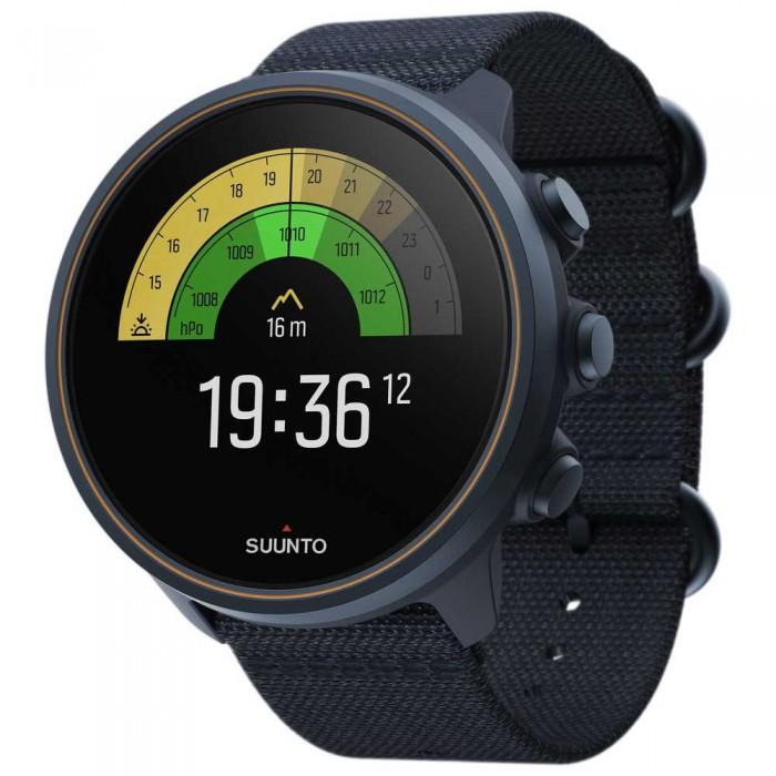 [해외]순토 9 Baro Titanium Watch 14138038613 Granite Blue