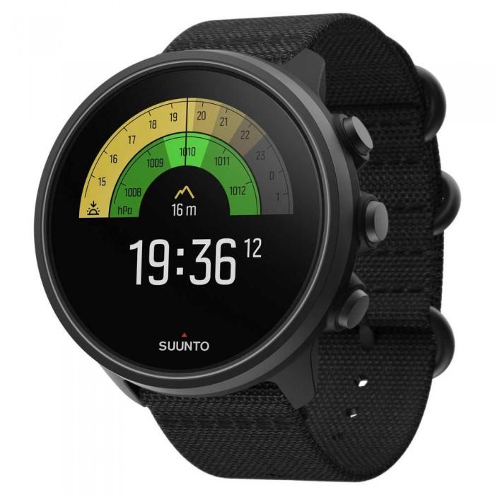 [해외]순토 9 Baro Titanium Watch 14138038614 Charcoal Black