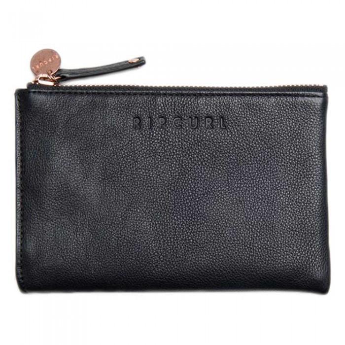 [해외]립컬 Mini Rfid Leather Coin Purse 14138045670 Black