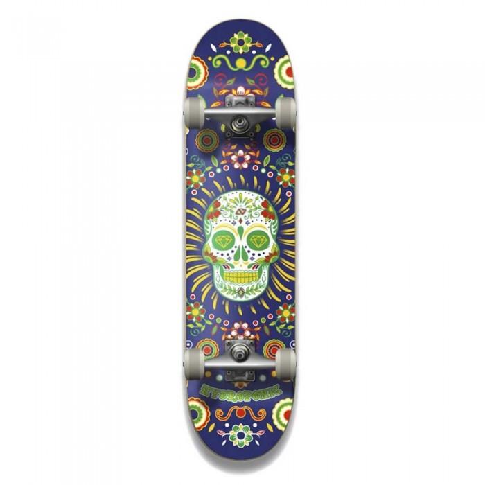 [해외]HYDROPONIC Mexican Collaboration Skateboard 14137988814 Navy Skull