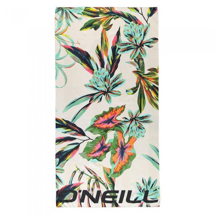 [해외]오닐 Quick Dry Towel 14137945785 White All Over Print / Green