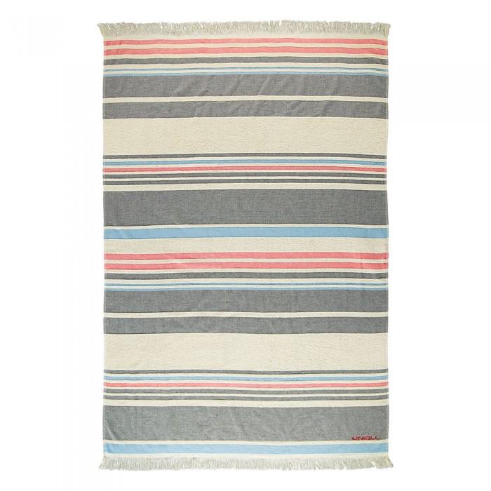 [해외]오닐 Jaquard Striped Towel 14137946398 Ebony