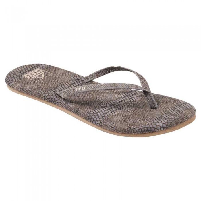 [해외]리프 Bliss Summer Flip Flops 14137815407 Dusty Snake / Medium Brown