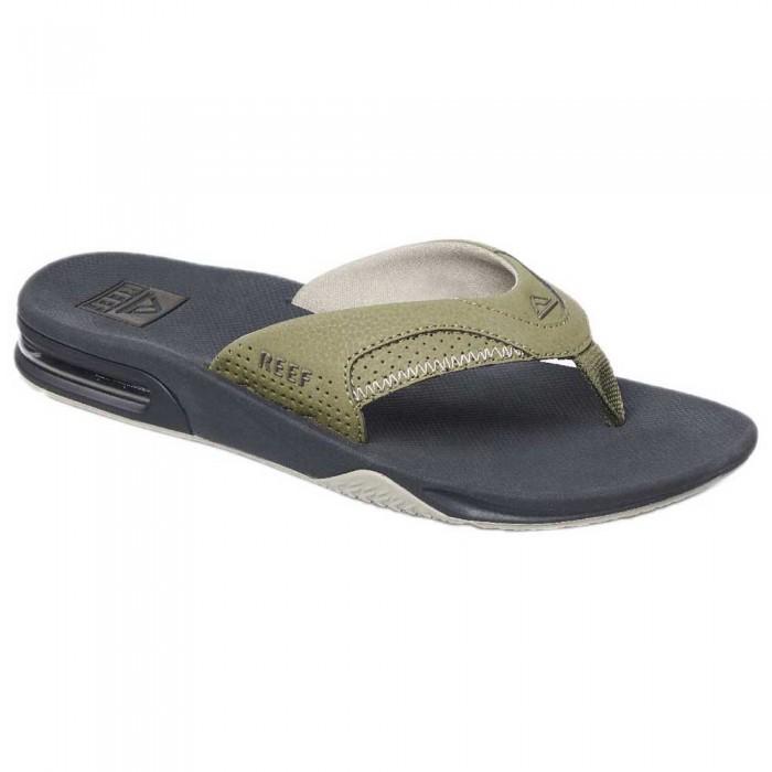 [해외]리프 Fanning Flip Flops 14137815128 Deep Olive / Dark Green