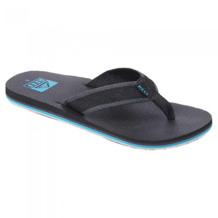 [해외]리프 Beach Woven 14137815301 Black / Aqua / Black