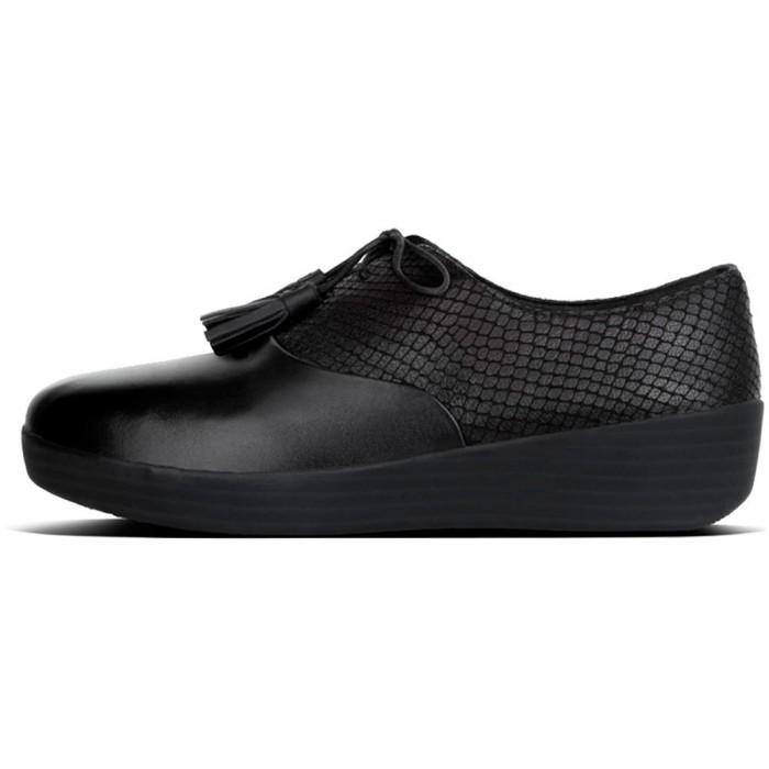 [해외]핏플랍 Classic Tassel Super Oxford Black / Black
