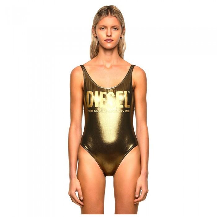 [해외]디젤 Lia Swimsuit Gold Metallic