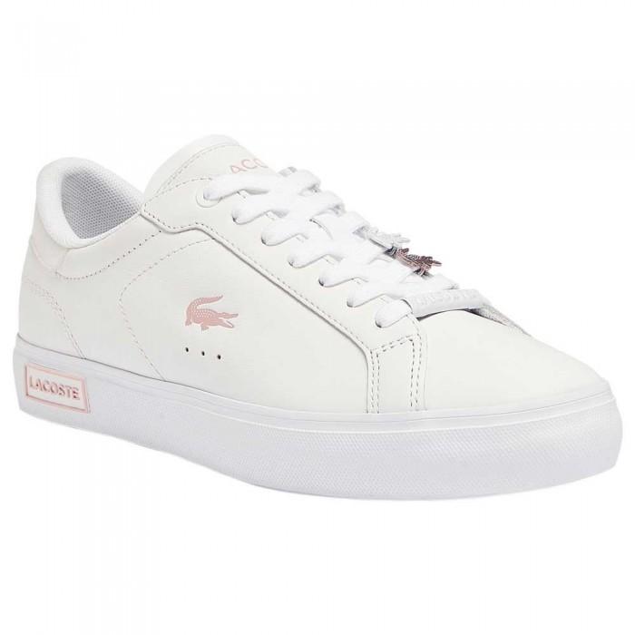 [해외]라코스테 41SFA0082 12137944452 White / Light Pink