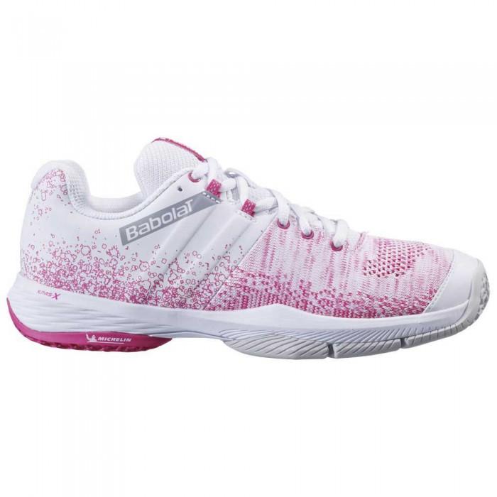 [해외]바볼랏 Sensa 12137762468 White / Pink Peacock