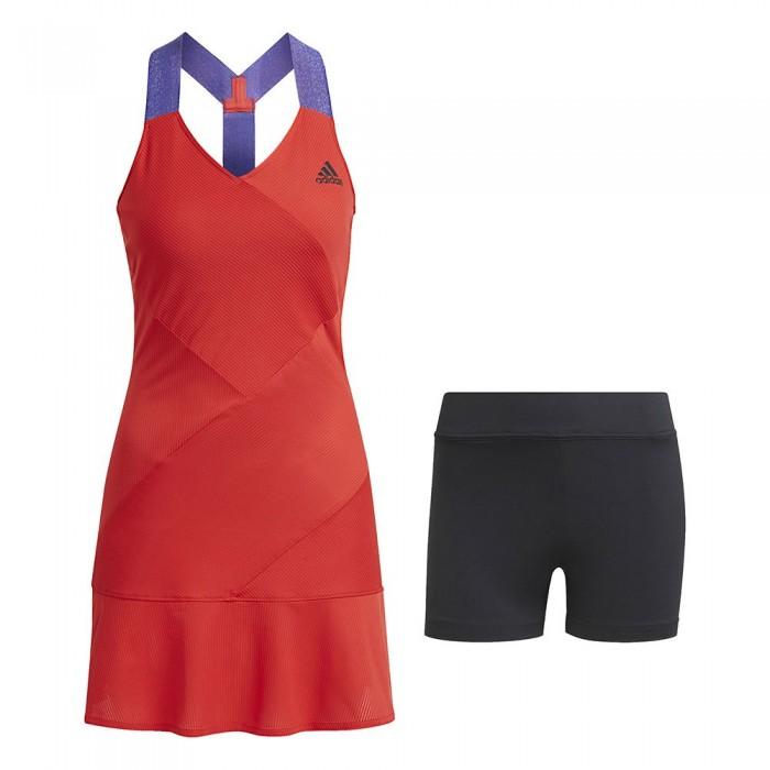[해외]아디다스 Tennis Primeblue Y 12137925873 Scarlet / Black