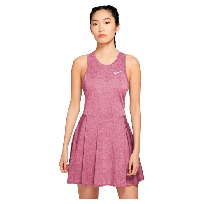 [해외]나이키 Court Dri Fit Advantage 12138030606 Elemental Pink / White