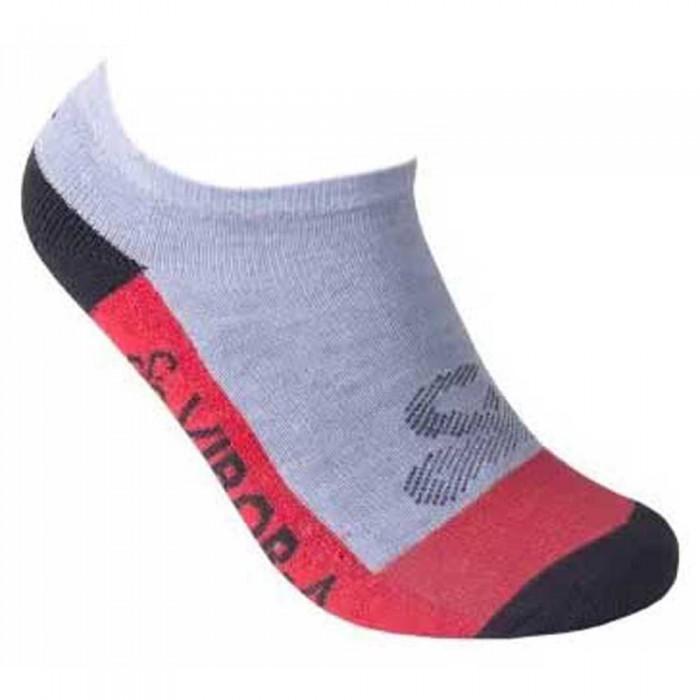 [해외]VIBORA Socks 12138025092 Grey Vigore / Red / Black