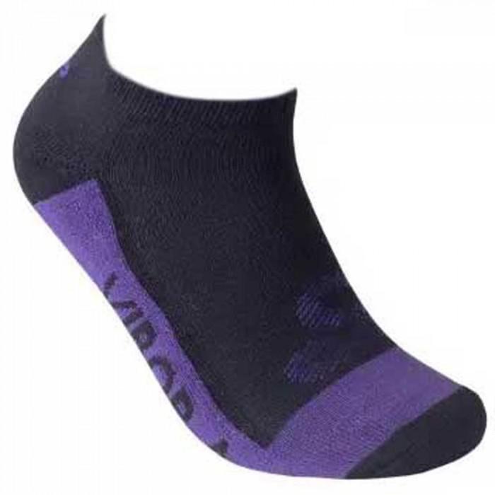 [해외]VIBORA Socks 12138025093 Black / Purple