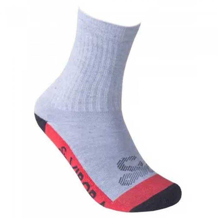 [해외]VIBORA Socks 12138025101 Grey Vigore / Red / Black