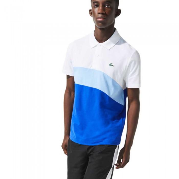 [해외]라코스테 YH9643 Short Sleeve Polo Shirt 12137944794 Blanc / Nattier 07E-Lazuli
