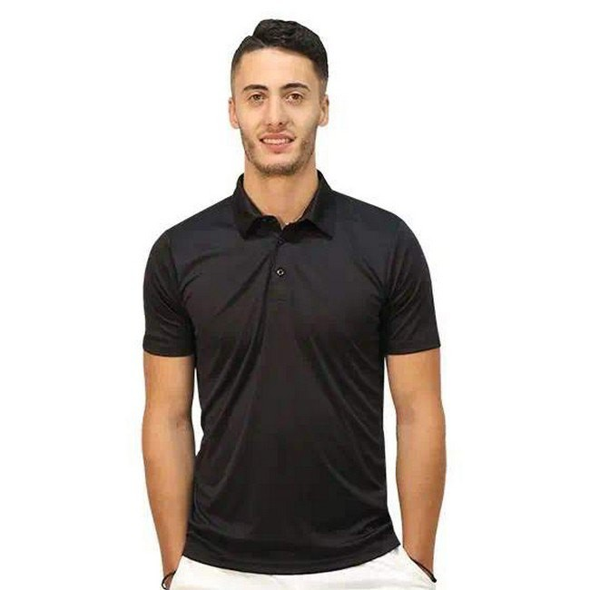 [해외]SOFTEE Propulsion Short Sleeve Polo Shirt 12138025020 Black