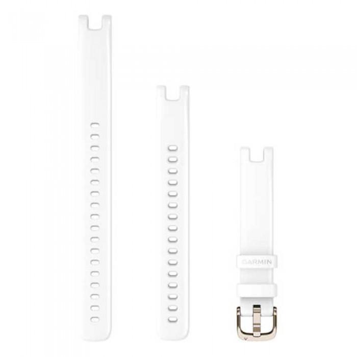[해외]가민 Lily Leather Strap 14 mm 7137988280 White / Cream Gold