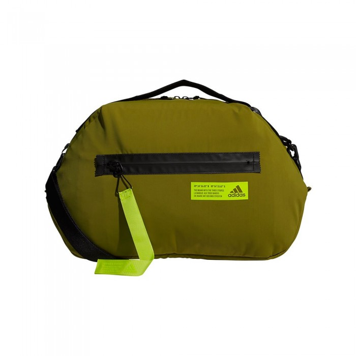[해외]아디다스 Favorites Duffel 29L 7137894467 Wild Moss / Acid Yellow