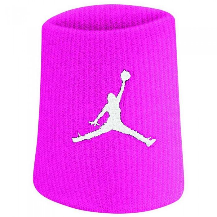 [해외]나이키 ACCESSORIES Jordan Jumpman Wristbands 7137355668 Vivid Pink / White