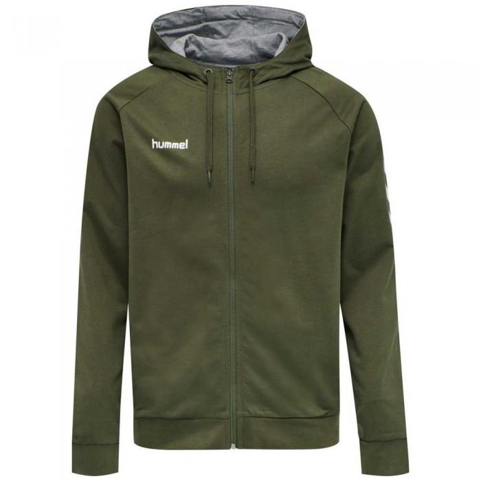[해외]험멜 Go Cotton Full Zip Sweatshirt 7138055580 Grape Leaf