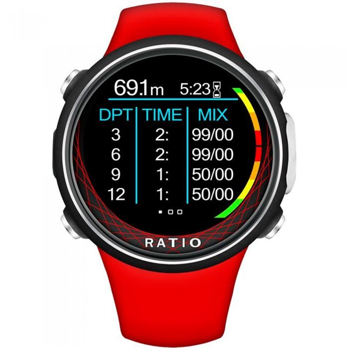[해외]RATIO iDive Deep 10138027428 Red