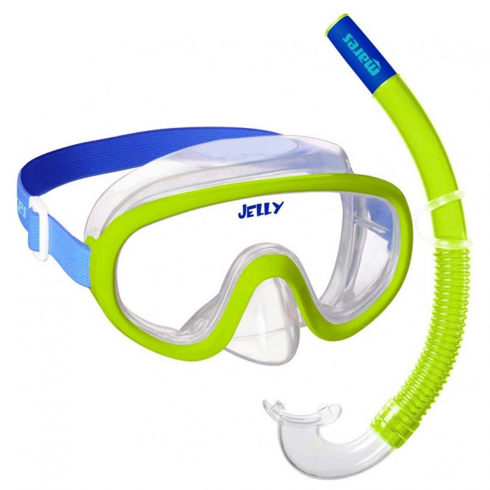 [해외]마레스 Jelly 10137923693 Lime / Blue / Clear
