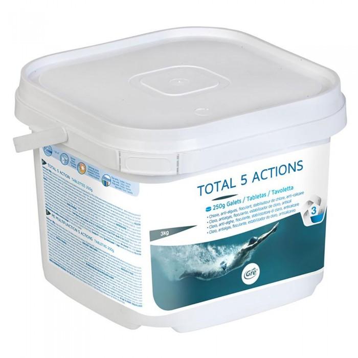 [해외]GRE POOLS Multiactions 5 Actions 250g 3kg 6138050852 White