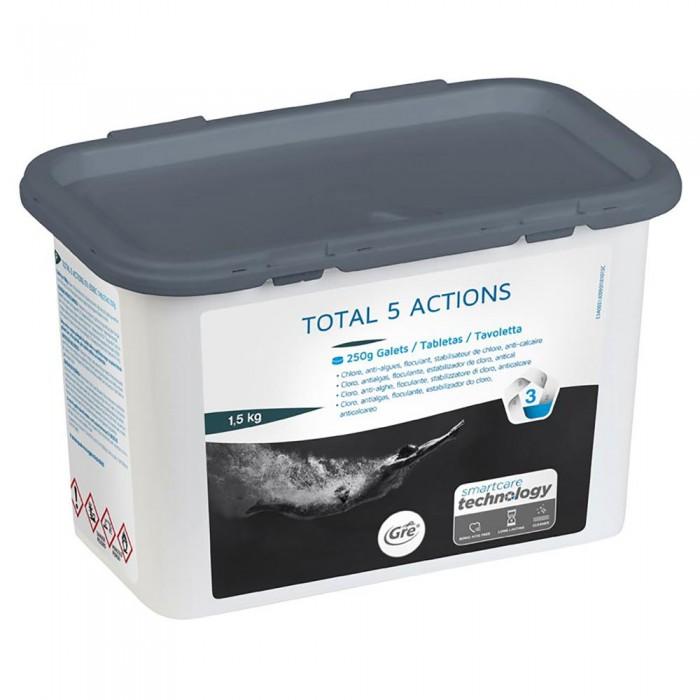 [해외]GRE POOLS Total 5 Actions 1.5kg 6138050862 White