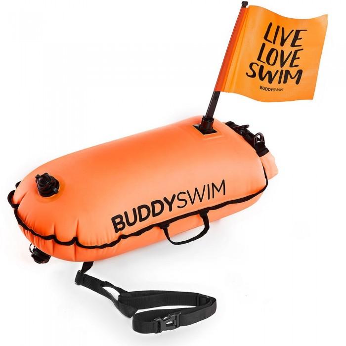 [해외]BUDDYSWIM Drybag with Flag 28L 6138042887 Orange