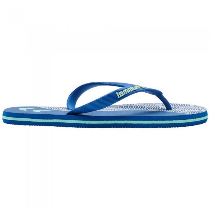 [해외]험멜 Wave Block 6138037504 Mykonos Blue
