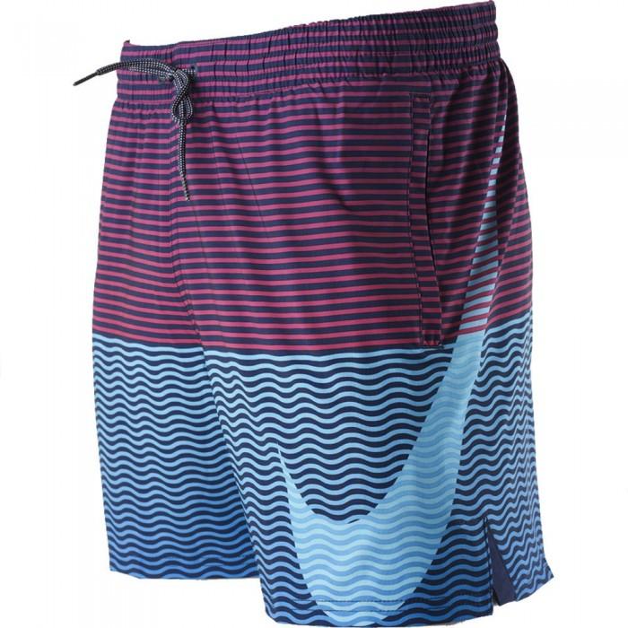 [해외]나이키 SWIM Stripes 5´´ 6138042796 Lagoon Puls