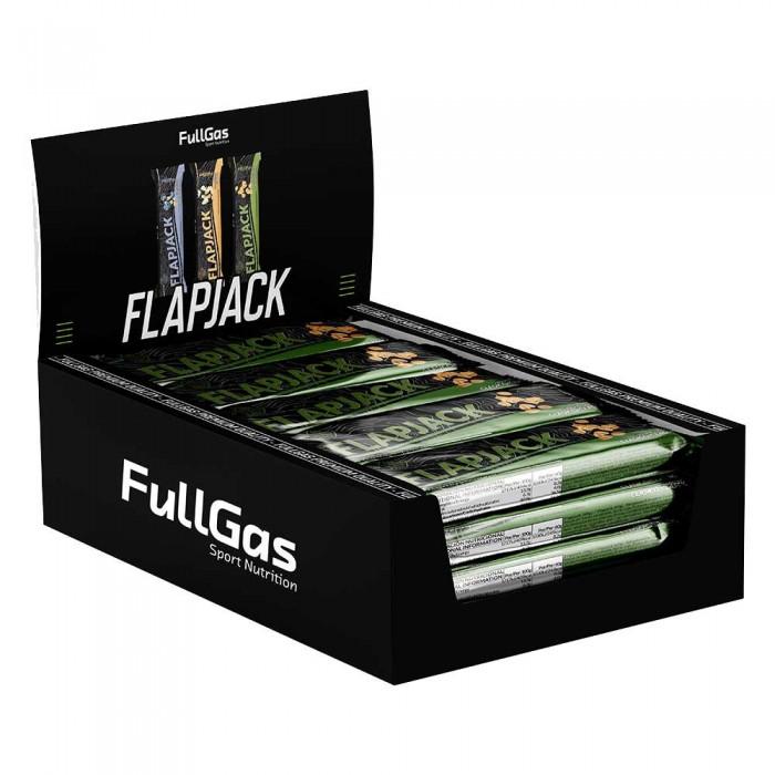 [해외]FULLGAS Flapjack 60gr 12 Units Oat 6137999490 Oats