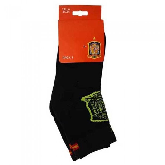 [해외]SOFTEE Socks 3 Pairs 6138059854 Black