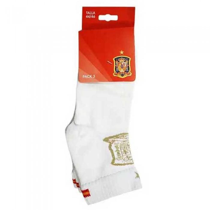 [해외]SOFTEE Socks 3 Pairs 6138059855 White