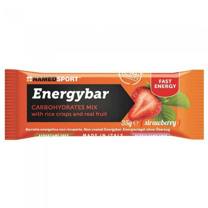 [해외]NAMED SPORT Carbohydrates Mix 35gr 12 Units Strawberry 14137002500 Strawberry