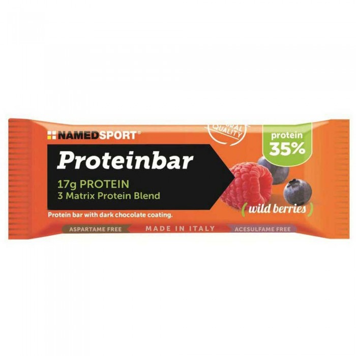 [해외]NAMED SPORT Protein 50gr 12 Units Wild Berries 14137002510 Wild Berries