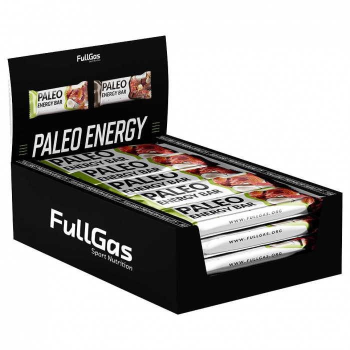 [해외]FULLGAS Paleo Energy 50gr 12 Units Coconut 14137999495 Coconut