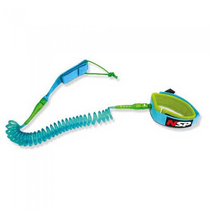 [해외]NSP SUP Coil Leash BASF 6´ 14137952501 Blue / Green