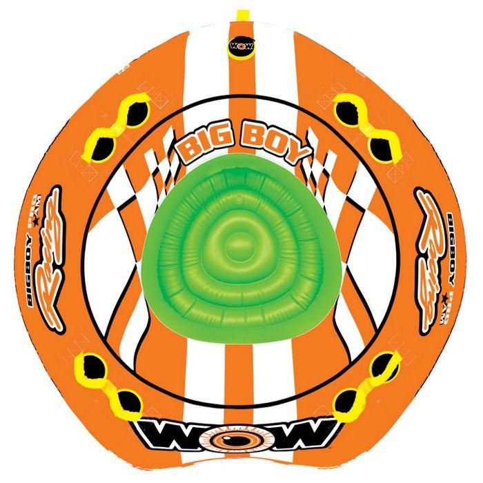 [해외]WOW Ski Tube Big Boy Racing 14137796638 Orange