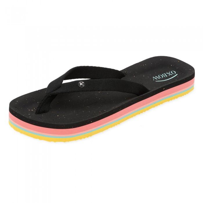[해외]OXBOW Cerolam Fancy Strap EVA Flip Flops 14137928420 Noir
