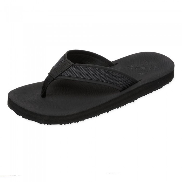 [해외]OXBOW Vasan Molded Leather-Like Flip Flops 14137928396 Noir