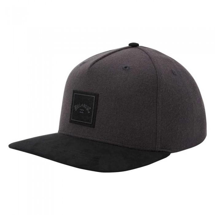 [해외]빌라봉 Stacked Up Snapback 14138040075 Grey Black