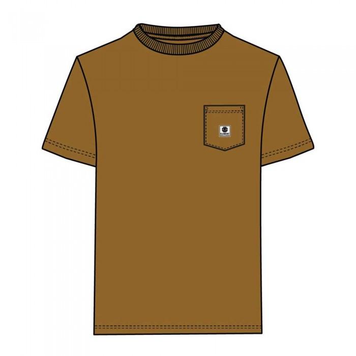 [해외]엘레먼트 Basic Pocket Label 14137781350 Gold Brown