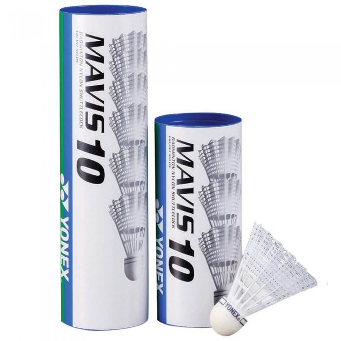 [해외]YONEX Mavis 10 77 Badminton Shuttlecocks 12138063430 White