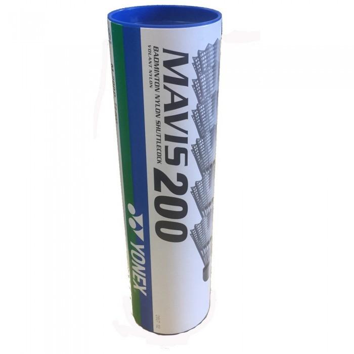 [해외]YONEX Mavis 200 77 Badminton Shuttlecocks 12138063431 White