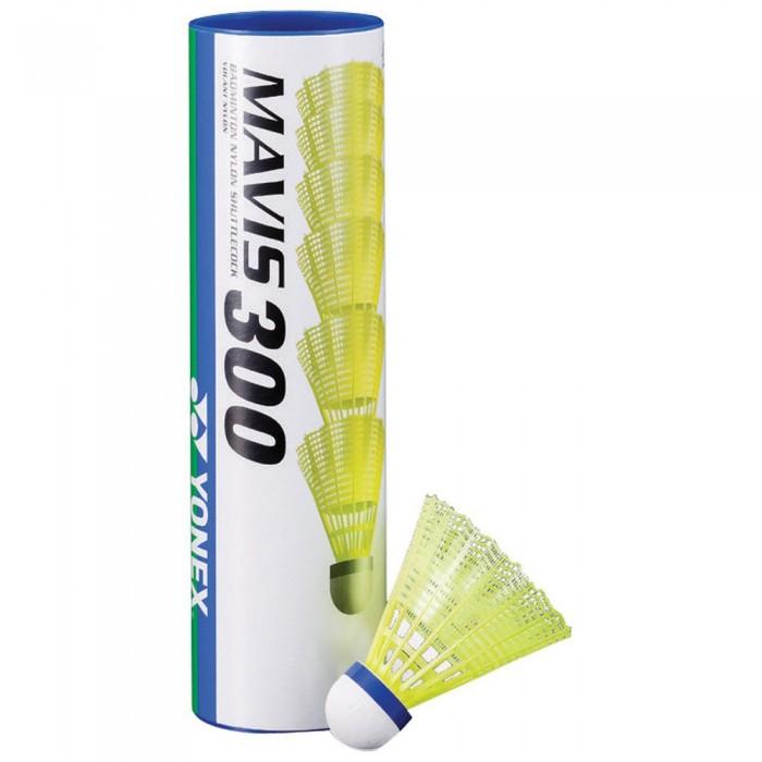 [해외]YONEX Mavis 300 77 Badminton Shuttlecocks 12138063433 Yellow
