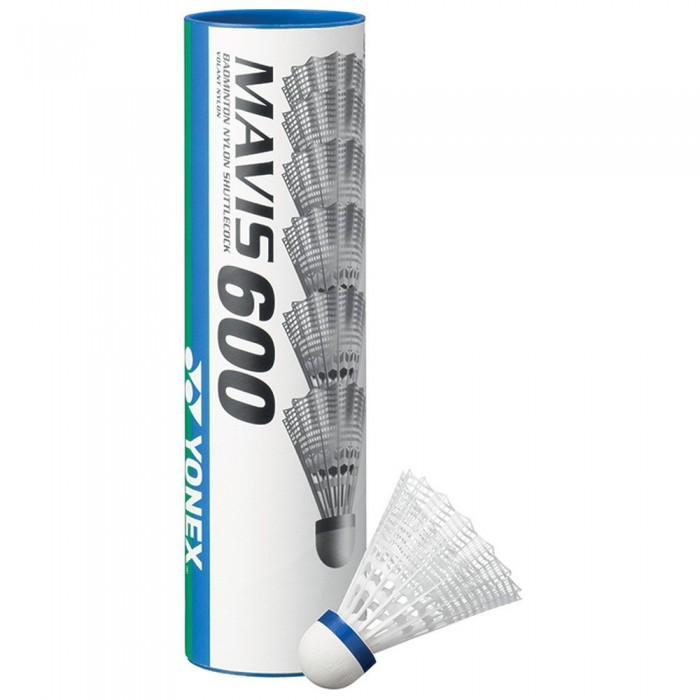[해외]YONEX Mavis 600 77 Badminton Shuttlecocks 12138063434 White