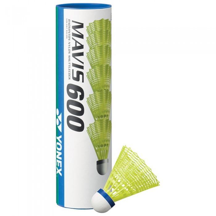 [해외]YONEX Mavis 600 77 Badminton Shuttlecocks 12138063435 Yellow