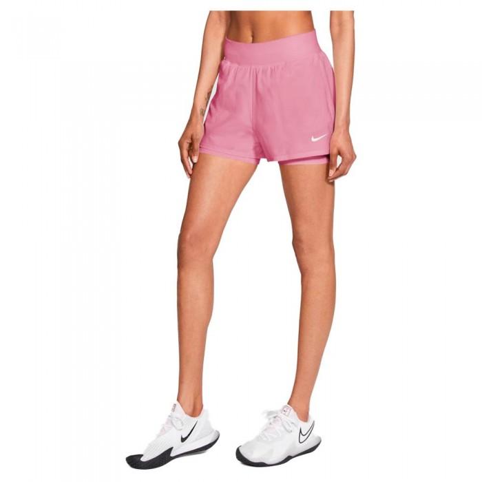 [해외]나이키 Court Dri Fit Victory Short Pants 12138030138 Elemental Pink / White
