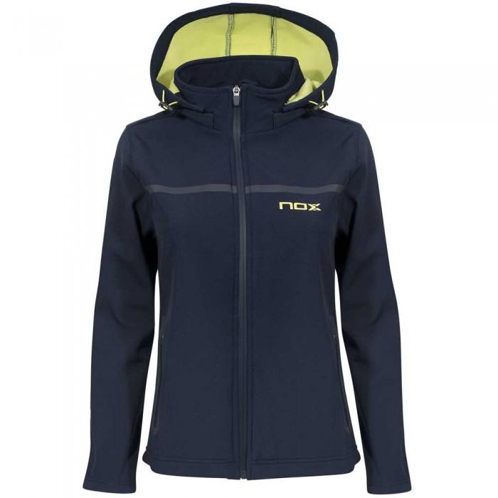 [해외]NOX Pro Softshell Jacket 12138014556 Blue / Lime